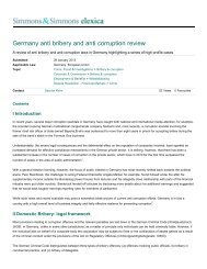 Germany anti bribery and anti corruption review