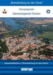 2. Gewerbegebiet Görden - Brandenburg an der Havel