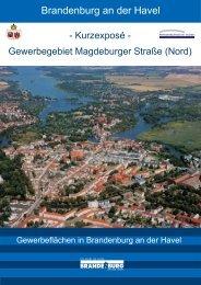 9. Gewerbegebiet Magdeburger Straße (Nord) - Brandenburg an der ...