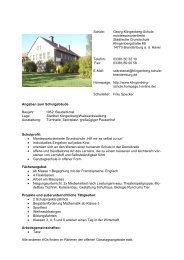 erfahren Sie mehr über die G.-Klingenberg - Brandenburg an der ...