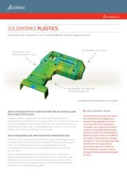SolidWorks Plastics 2013 - Solid Solutions AG
