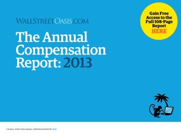 The Annual Compensation Report: 2013