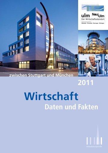Wirtschaft - Stadtentwicklungsverband Ulm/Neu-Ulm