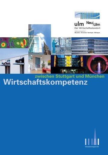 Wirtschaftskompetenz - Stadtentwicklungsverband Ulm/Neu-Ulm