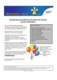 Newsletter Ausgabe 2013/1 des Gifhorner ... - Stadt Gifhorn