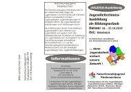 Juleica Anmeldeformular Termin 3 - Stadt Gifhorn