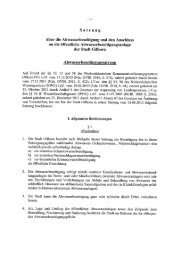 Abwasserbeseitigungssatzung 01.01.2013 - Stadt Gifhorn