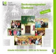 Seniorenwegweiser Gladbeck Seniorenwegweiser  ... - Stadt Gladbeck