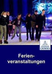 Ferienveranstaltungen - Stadt Grimma