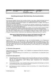 Gestaltungssatzung der Stadt Hallenberg -Hochsauerlandkreis ...