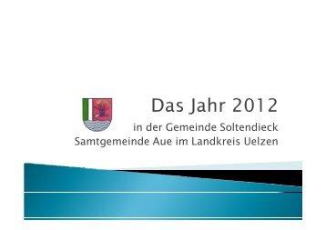 in der Gemeinde Soltendieck Samtgemeinde Aue im Landkreis ...