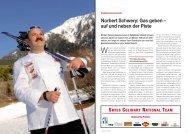 Kochnationalmannschaft Norbert Schwery - Hotel & Gastro Union