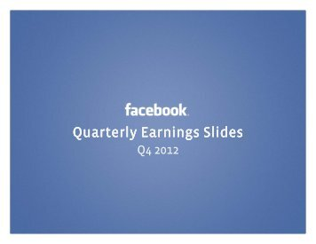Quarterly Quarterly Earnings Earnings Earnings Slides Slides Slides