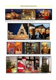 Weihnachtliche Impressionen - Sonneberg