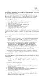 Richtlinie für die Gewährung von Zuschüssen an ... - Sonneberg