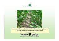 Ressourcenschonende Landwirtschaft in ... - Freistaat Sachsen