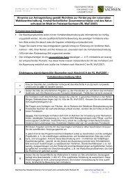 Beachten: mind - Sächsisches Staatsministerium für Umwelt und ...