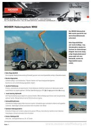 Download MOSER Hakensysteme MH2 ... - MOSER AG Steffisburg