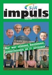 Impuls Sommer 2009 - Stadtjugendring Kempten