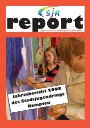Jahresbericht 2008 - Stadtjugendring Kempten