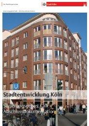 Dokumentation Sanierung Kalk [ PDF , 3671 KB ] - Stadt Köln