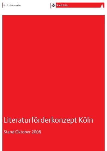 Literatur [ PDF , 93 KB ] - Stadt Köln