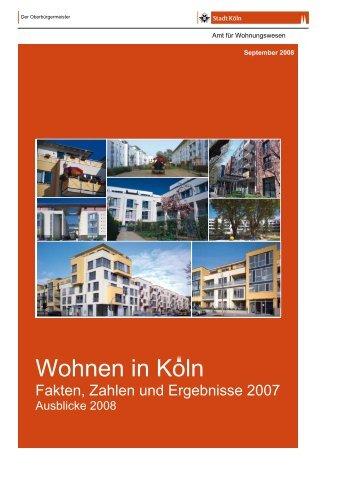 Wohnen In Koln - Stadt Köln
