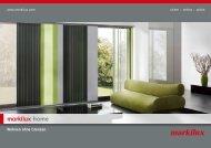 Prospekt markilux home Senkrechtverschattungen (PDF 4.37 MB)