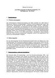 Begründung - Lippstadt