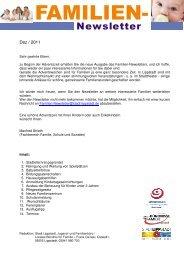 Familien-Newsletter Dezember 2011 - Lippstadt