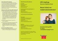 HPV-Impfung Neuer Schutz vor Gebärmutterhalskrebs? - Lippstadt