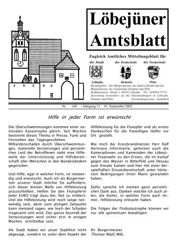 09 Amtsblatt September - Löbejün