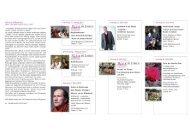 Kulturprogramm 2013 - Stadt Lorch