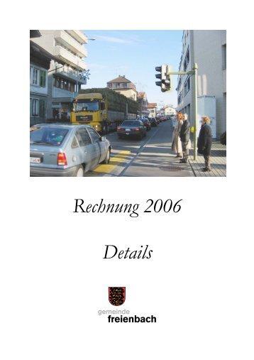 Verwaltungsvermögen - Gemeinde Freienbach
