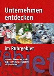 Unternehmen entdecken - Ruhr 2010