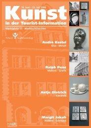 in der Tourist-Information - Stadtmarketing Halle