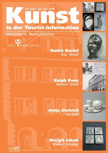 in der Tourist-Information - Stadtmarketing Halle