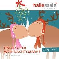 ab 23.11.2011 - Stadtmarketing Halle