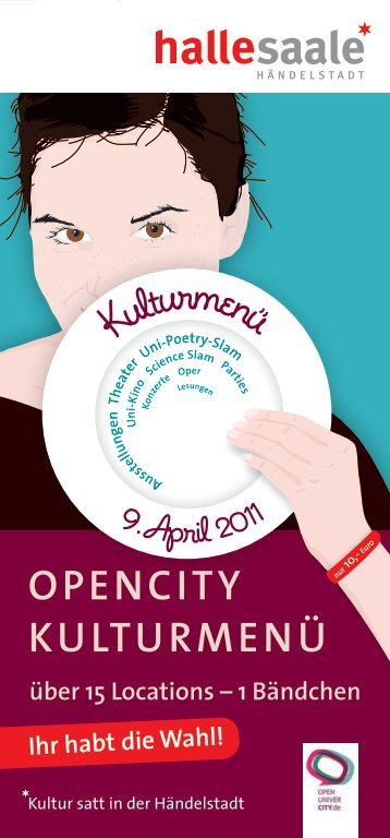 OPenCity KuLturMenü - Stadtmarketing Halle