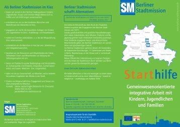 Starthilfe - Berliner Stadtmission