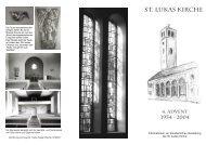 St. Lukas Kirche - Berliner Stadtmission