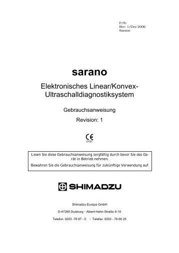 Sarano-Einleitung-Rev 1 - Sonowied GmbH