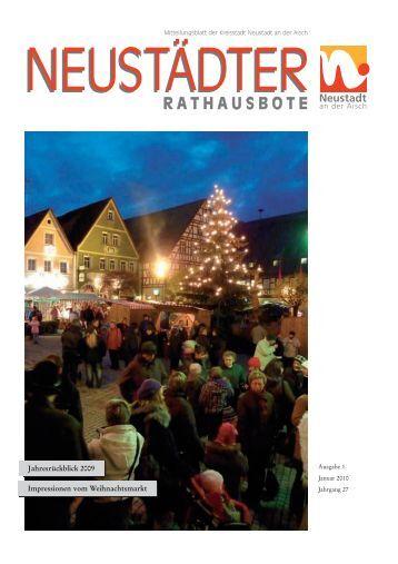 RATHAUSBOTE - der Stadt Neustadt an der Aisch