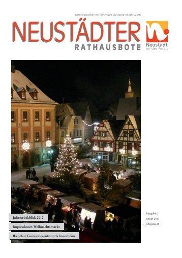 Kommunion - der Stadt Neustadt an der Aisch