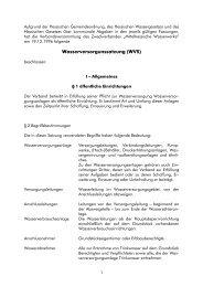 Wasserversorgungssatzung ZMW - Stadt Neustadt