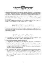 6DW]XQJ ]XU (UKHEXQJ YRQ ... - Stadt Neustadt