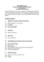 Geschäftsordnung der ... - Stadt Neustadt