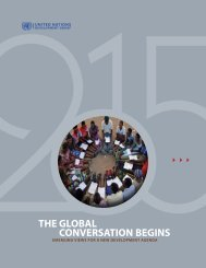 THE GLOBAL CONVERSATION BEGINS