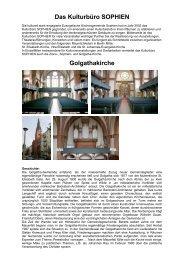 Info-Flyer Golgathakirche - in der Evangelischen Kirchengemeinde ...