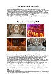 Info-Flyer St. Johannes Evangelist - Kirche (PDF) - in der ...